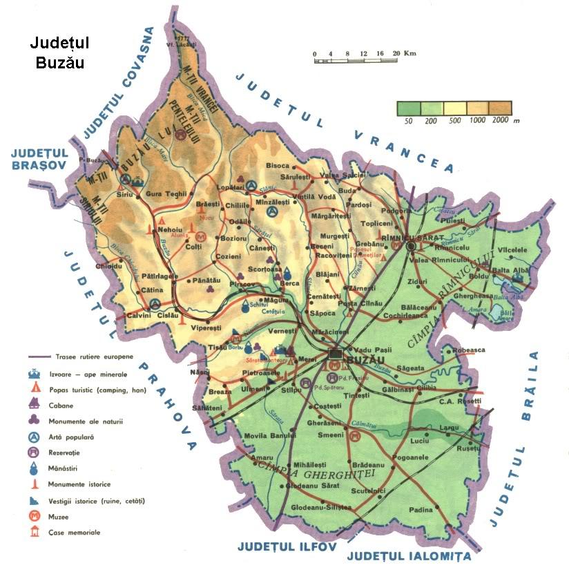 Harta Rutiera Prahova
