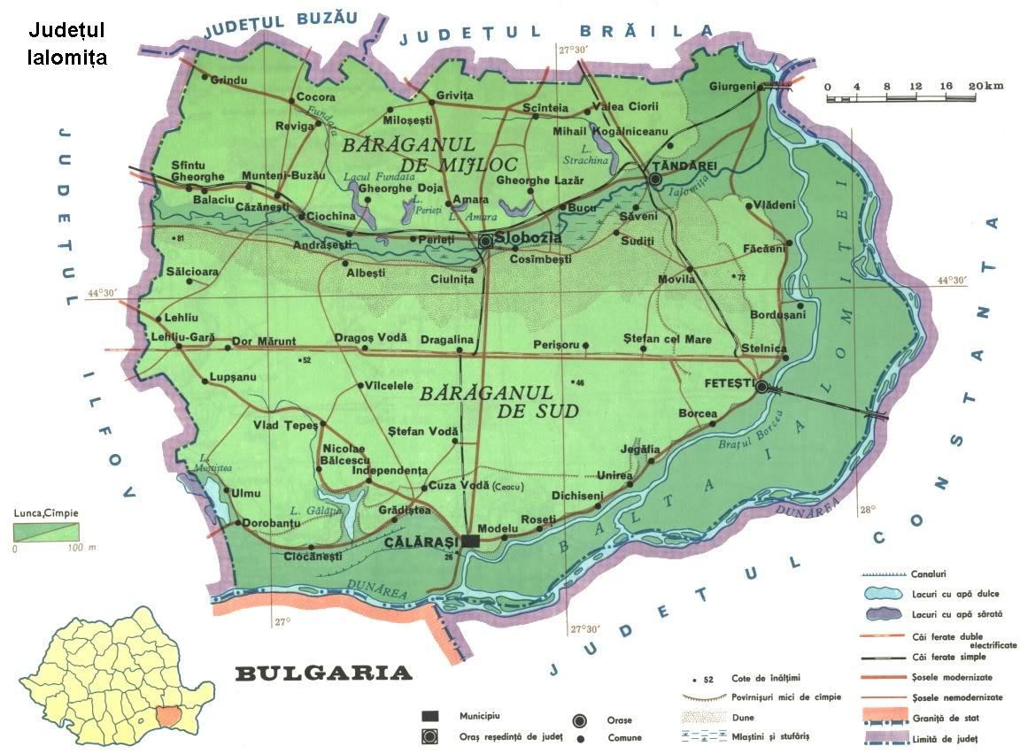 Harta Ialomita Rutiera