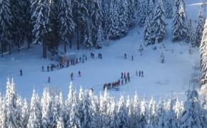 Partia de ski Csipike – Harghita Bai