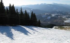 Pârtia de ski Spre Saivane – Petrosani