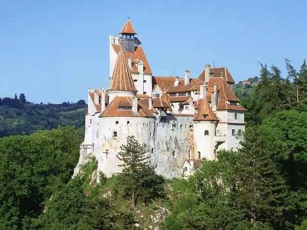 Castelul Bran Brasov Obiective Turistice Harta Romaniei