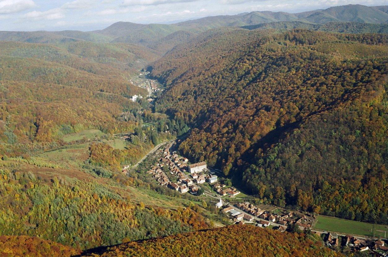 Moneasa Obiective Turistice Harta Romaniei