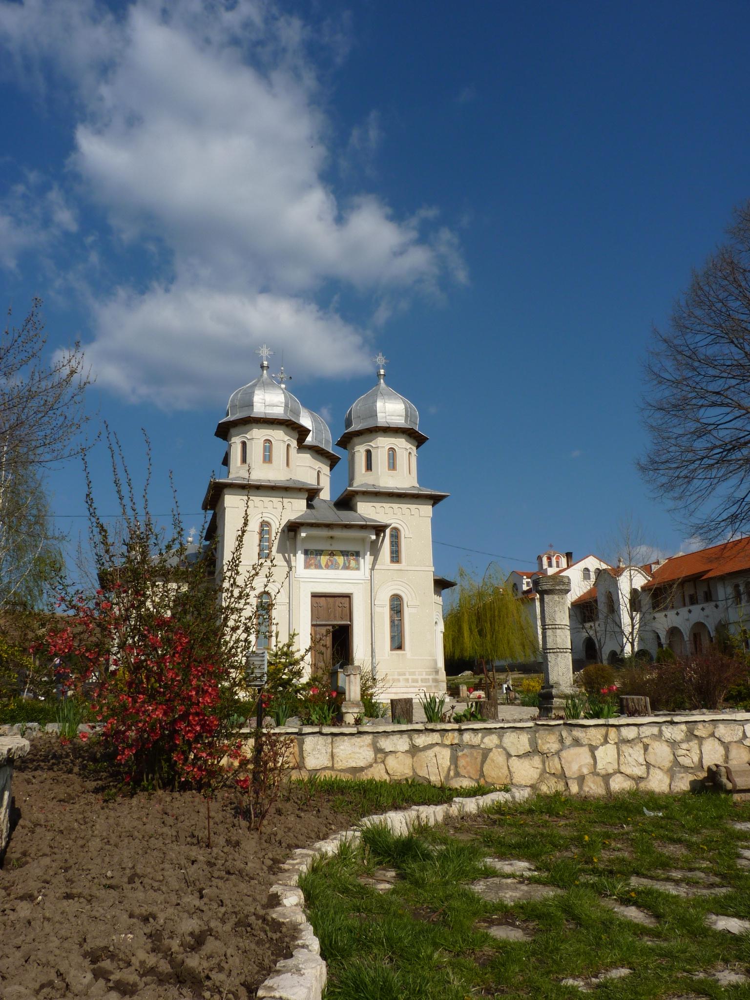 Biserica Mănăstirii Dervent Constanta Obiective Turistice