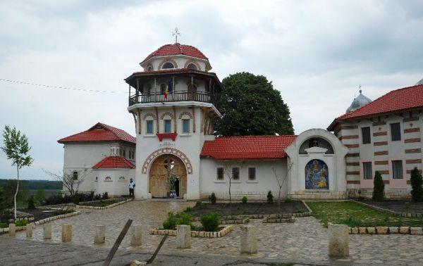 Mănăstirea Dervent Constanta Obiective Turistice Harta Romaniei