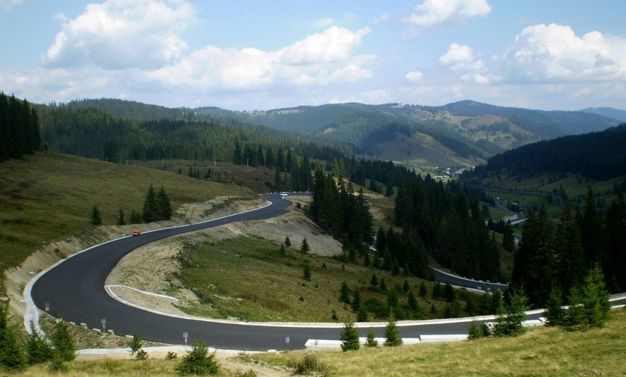 Pasul Tihuța Obiective Turistice Harta Romaniei