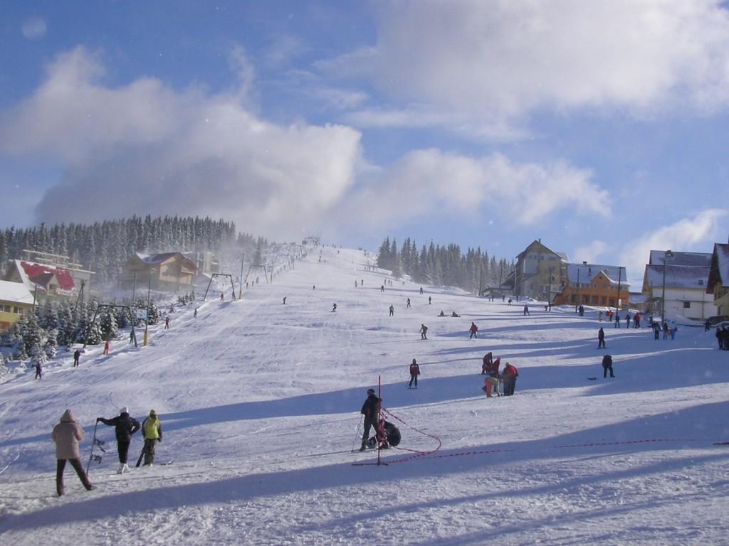 Pârtia de ski Rânca – Gorj | Obiective Turistice - Harta ...  |Ranca