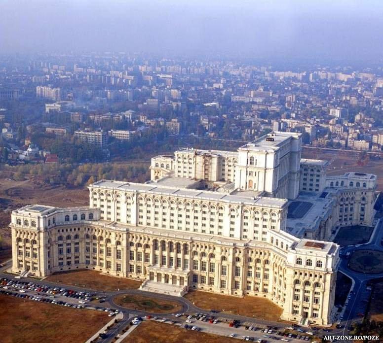 Palatul Parlamentului Bucuresti Obiective Turistice Harta
