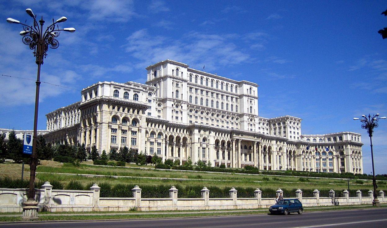 Palatul Parlamentului Bucuresti Romania Obiective Turistice