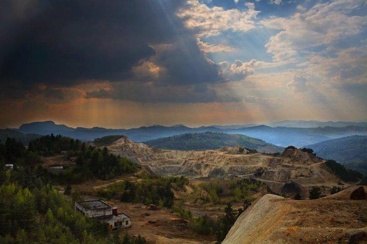 Rosia Montana Alba Obiective Turistice Harta Romaniei